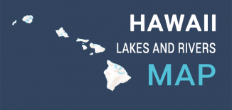 Hawaii Lakes Rivers Map Feature