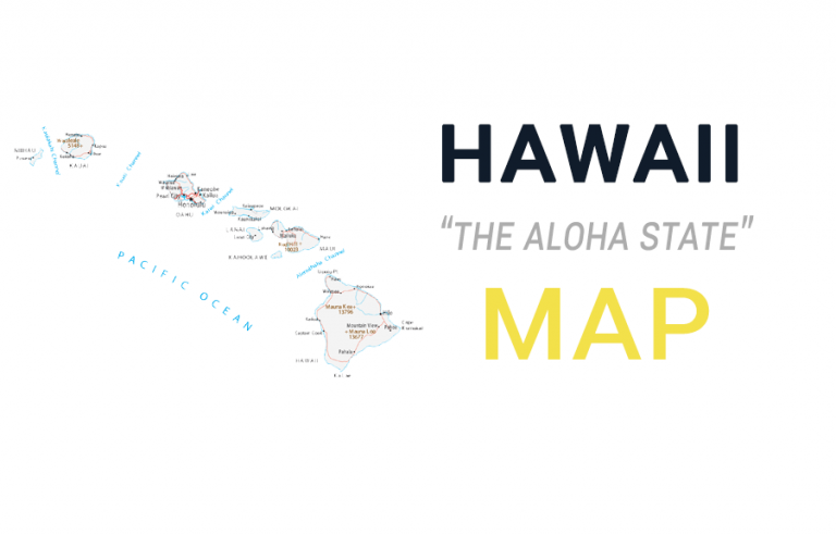 Map of Hawaii – Islands and Cities