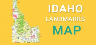 Idaho Landmarks Map Feature