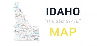 Idaho Map Feature