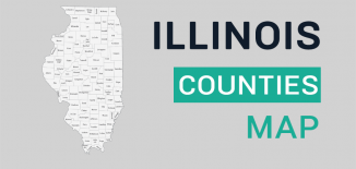 Illinois County Map Feature