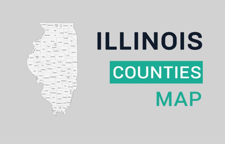 Illinois County Map
