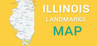 Illinois Landmarks Map Feature