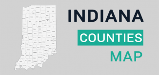Indiana County Map Feature