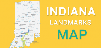 Indiana Landmarks Map Feature
