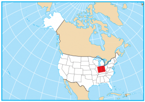 Indiana Map Extent