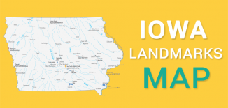 Iowa Landmarks Map Feature