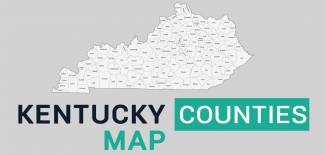 Kentucky County Map Feature