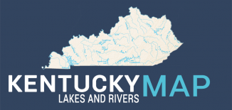 Kentucky Lakes Rivers Map Feature