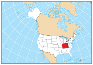 Kentucky Map Extent