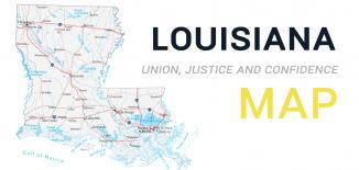 Louisiana Map Feature