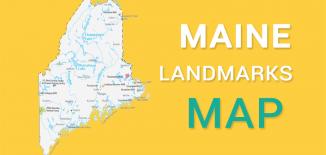 Maine Landmarks Map Feature