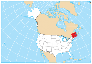Maine Map Extent