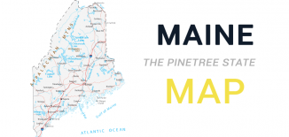 Maine Map Feature
