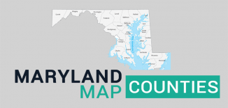 Maryland County Map Feature