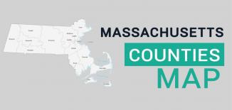 Massachusetts County Map Feature