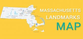 Massachusetts Landmarks Map Feature