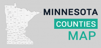 Minnesota County Map Feature