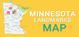 Minnesota Landmarks Map Feature