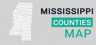 Mississippi County Map Feature