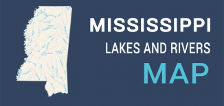 Mississippi Lakes Rivers Map Feature