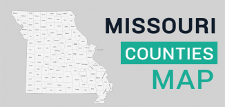 Missouri County Map Feature