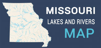 Missouri Lakes Rivers Map Feature