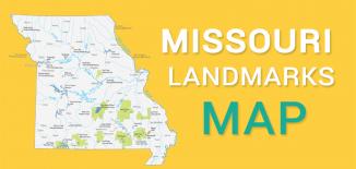 Missouri Landmarks Map Feature