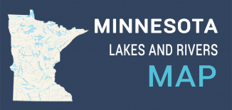 Mnnesota Lakes Rivers Map Feature