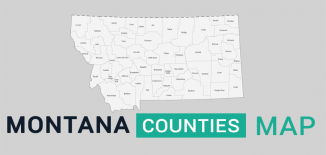 Montana County Map Feature