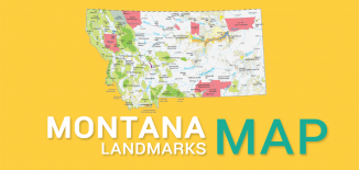 Montana Landmarks Map Feature