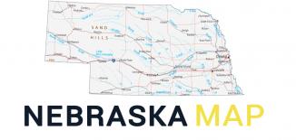Nebraska Map Feature