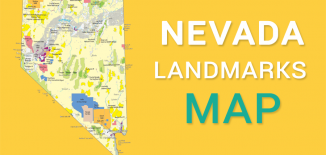 Nevada Landmarks Map Feature