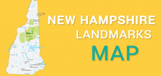 New Hampshire Landmarks Map Feature