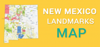 New Mexico Landmarks Map Feature