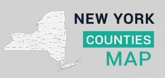 New York County Map Feature