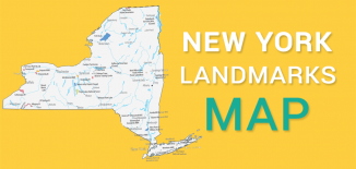 New York Landmarks Map Feature