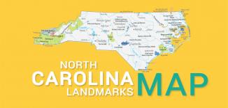 North Carolina Landmarks Map Feature