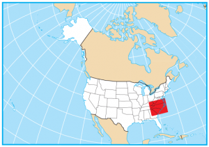 North Carolina Map Extent