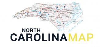 North Carolina Map Feature