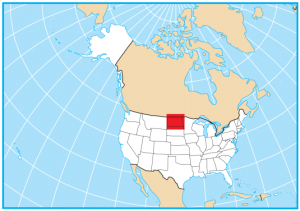 North Dakota Map Extent