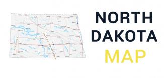 North Dakota Map Feature