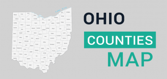 Ohio County Map Feature