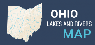 Ohio Lakes Rivers Map Feature