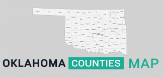 Oklahoma County Map Feature