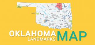 Oklahoma Landmarks Map Feature