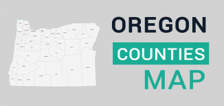 Oregon County Map Feature