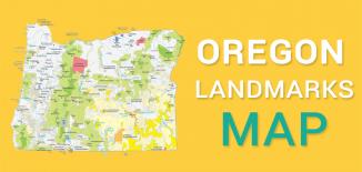 Oregon Landmarks Map Feature