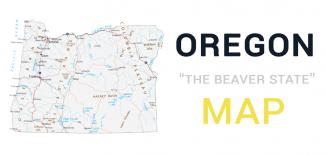 Oregon Map Feature