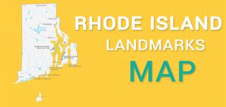 Rhode Island Landmarks Map Feature